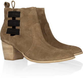 Twelfth St. By Cynthia Vincent Georgie suede ankle boots