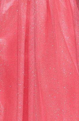 Hailey Logan Glitter Tulle Party Dress (Juniors)