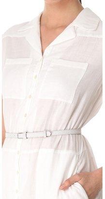 Rochas Cotton Maxi Dress