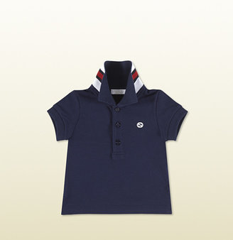 Gucci Oltremare Short Sleeve Polo