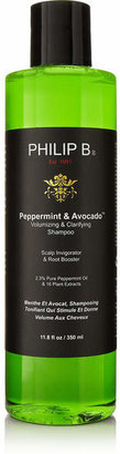 Philip B - Peppermint And Avocado Volumizing & Clarifying Shampooo, 350ml $40 thestylecure.com