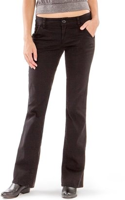 UNIONBAY Juniors' School Uniform Heather Bootcut Pants