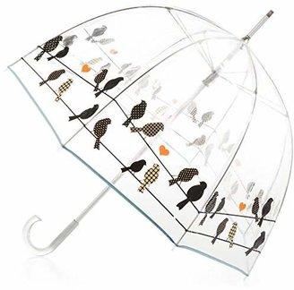 totes Signature Clear Bubble Umbrella $24 thestylecure.com