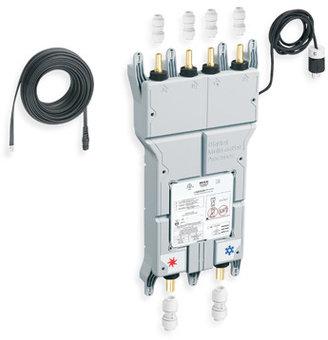 """Moen iODigital 3/4"""" CC CPVC Inlet Push Fit Connectors/Outlet Push Fit Connection"""