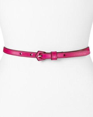 """Lauren Ralph Lauren Belt - 1/2"""" Vachetta with Covered Buckle"""