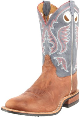 "Justin Boots Men's U.S.A. Bent Rail Collection 11"" Boot Wide Square Double Stitch Toe Performance Rubber Outsole"