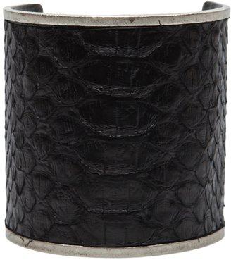 Plein Sud Jeans Python bracelet