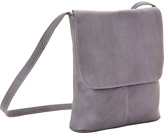 Le Donne Leather Simple Flap Over