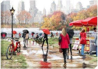 John Lewis & Partners Richard Macneil - In Central Park New York Print on Canvas, 70 x 100cm