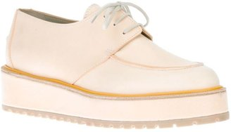 Sonia Rykiel Sonia By contrast lace-up derby