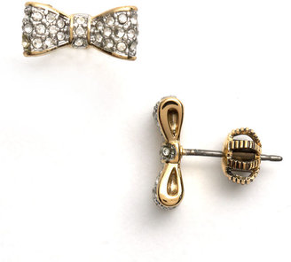 Juicy Couture Pave Bow Stud Earrings