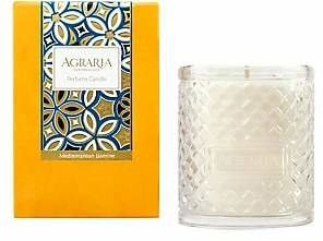 Agraria Mediterranean Jasmine Woven Crystal Candle