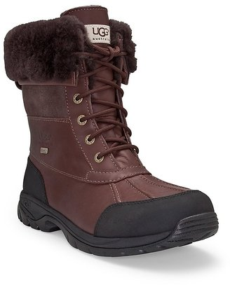 UGG Men's Butte Waterproof Leather Boots