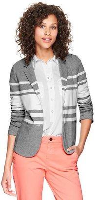 Gap Knit unstructured blazer