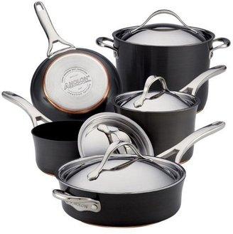 Anolon 9-pc. Nonstick Nouvelle Copper Cookware Set
