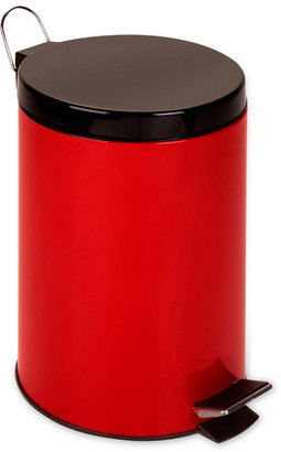Honey-Can-Do 12-Liter Red Step Trash Can