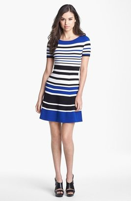 BCBGMAXAZRIA Stripe Sweater Dress