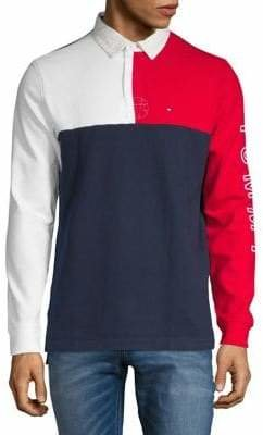 Tommy Hilfiger Long-Sleeve Cotton Polo