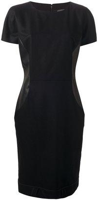 Fendi paneled structured dress