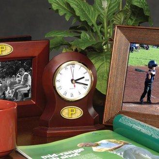 MEMORY Company Team Desk Clock - Pittsburgh Pirates