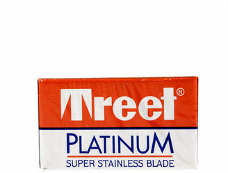 Smallflower Platinum Super Stainless Double-Edge Blades - 5 Pack by Treet (5 Razor Blades)