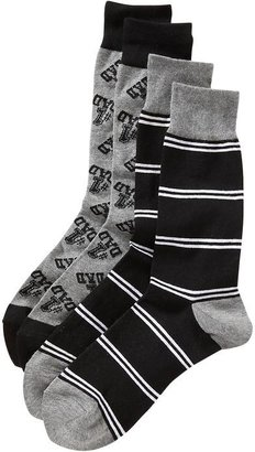 Old Navy Men's Patterned Sock 2-Packs
