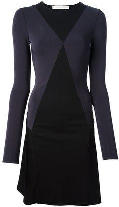 Stella McCartney mix jersey dress