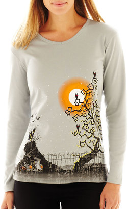 JCPenney JCP Halloween Graphic Tee