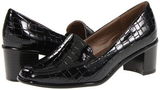 SoftStyle Soft Style - Julee (Black Patent Croco) - Footwear