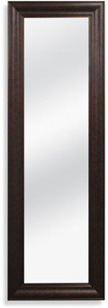 Bed Bath & Beyond No-Tools Over The Door Mirror - Bronze