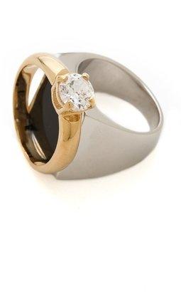 Maison Martin Margiela Faux Diamond Ring