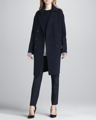 Vince Ombre Wool-Cashmere Sweater