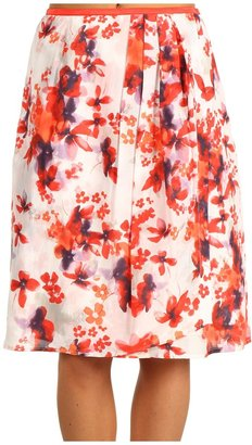 Nic+Zoe Blushing Floral Flirt Skirt (Multi) - Apparel