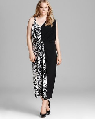 T-Bags Tbags Los Angeles Plus Two Sided Maxi Dress