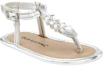 Old Navy Metallic Soft-Sole Sandals for Baby