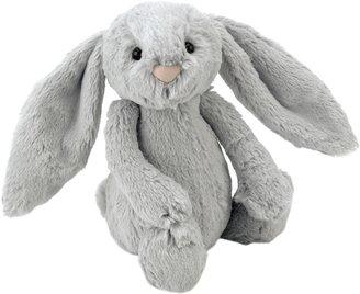 Jellycat Bashful Bunny Soft Toy, Medium, Silver