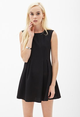 Forever 21 crepe woven a-line dress