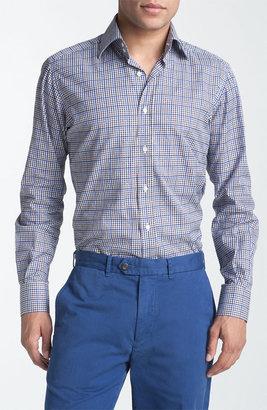 Etro Plaid Woven Dress Shirt