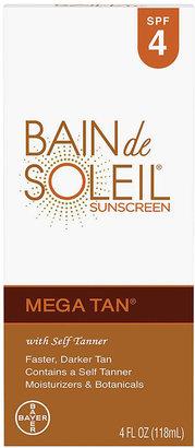 Bain de Soleil Mega Tan Sunscreen with Self Tanner Lotion