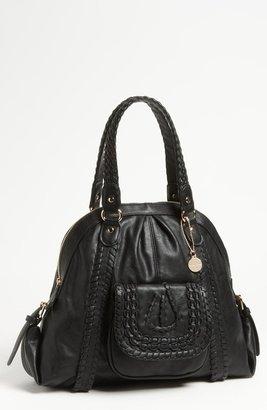Big Buddha 'Dixie' Faux Leather Satchel, Large