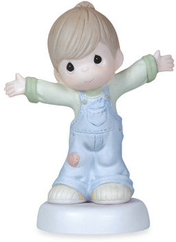 Precious Moments Precious Moments™ I Love You This Much Boy Porcelain Figurine