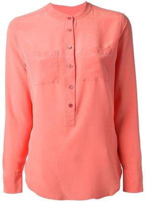 Equipment patch pocket blouse