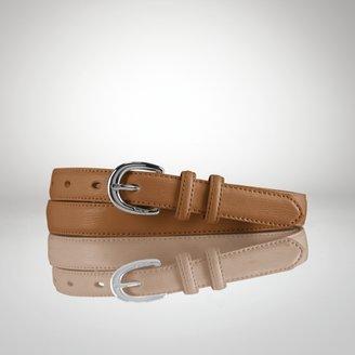 Ralph Lauren Skinny Leather Belt