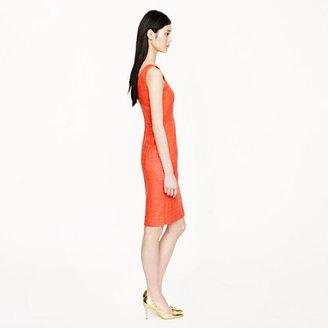 J.Crew Collection coated tweed dress