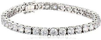 "Myia Passiello ""Timeless"" Swarovski Cubic-Zirconia 5mm Tennis Bracelet, 7.25"" $169 thestylecure.com"