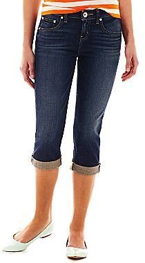JCPenney a.n.a® Rolled Cropped Jeans - Petite