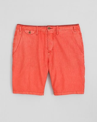 Paul Smith Collection Linen-Cotton Shorts