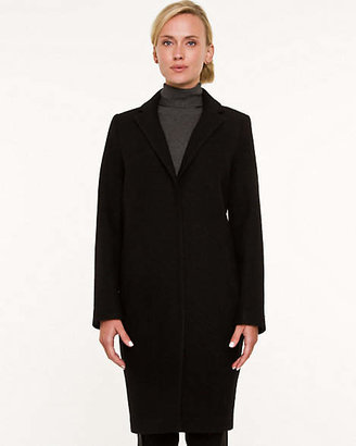 Le Château Boiled Wool Cocoon Coat