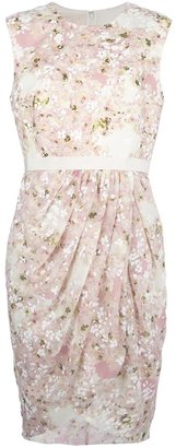 Giambattista Valli floral print sleeveless dress