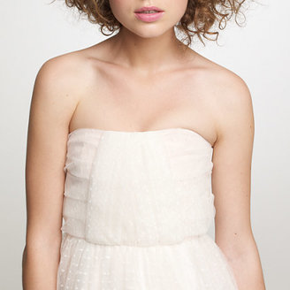 J.Crew Layered tulle Lorna gown